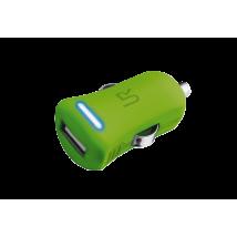 Зарядное устройство 5W Car Charger - lime green