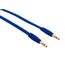 Кабель Flat Audio Cable 1m - blue