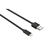 Кабель Lightning Round Cable 2m MFI (Black)