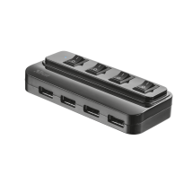 4 Port USB 2.0 Hub with switches