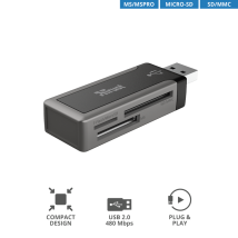 Кардрідер Trust MRC-110 Mini Card Reader