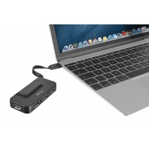 Oila USB-C to 4 Port Standard USB 2.0 Hub (Type-A)