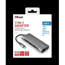 Мультипортових USB-C адаптер Trust Dalyx