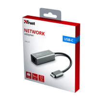 Адаптер Trust Dalyx USB-C to Ethernet Adapter