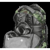 "Рюкзак Trust GXT 1250G Hunter Gaming 17.3 ""green camo"
