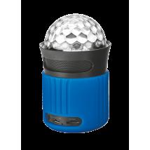 Портативна бездротова акустика Dixxo Go Wireless Bluetooth Speaker with party lights blue