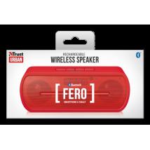Портативная беспроводная акустика Fero Wireless Bluetooth Speaker - red