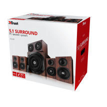 Акустическая система Vigor 5.1 surround speaker system for pc - brown