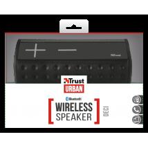 Портативна бездротова акустика Trust Deci Wireless Bluetooth Speaker - black