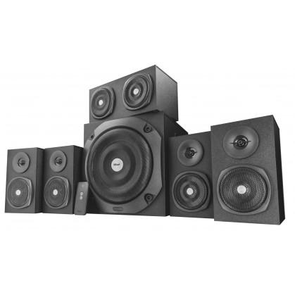 Акустична система Vigor 5.1 surround speaker system for pc - black