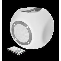 Беспроводная акустика Lara Wireless Bluetooth speaker with multi-colour party lights - white