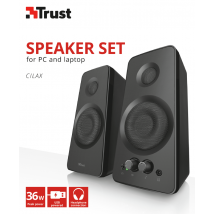 Комплект Колонок Cilax 2.0 speaker set - black