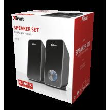 Комплект динаміків Arys Compact 2.0 speaker set - black (22945)