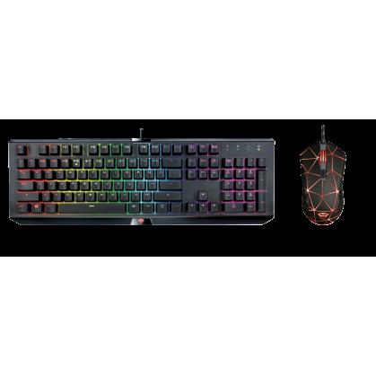 Механическая игровая клавиатура GXT 890 Cada RGB Mechanical Keyboard + крутая игровая мышь