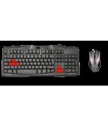 Игровая клавиатура Ziva Gaming Keyboard + игровая мышь