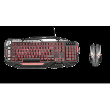 Профессиональная игровая клавиатура GXT 285 ADVANCED (21201) + Игровая мышь