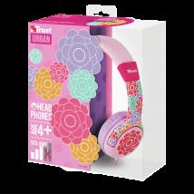 Дитячі навушники Spila Kids Headphone - Flower