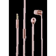 Гарнитура Duga In-Ear Headphones - rose  gold