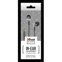 Гарнитура Crystal In-ear Headphones with microphone & remote - black
