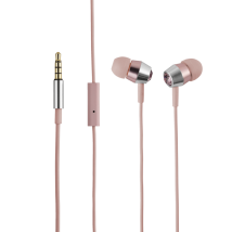 Гарнитура Crystal In-ear Headphones with microphone & remote - ping