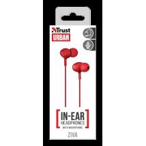 Гарнітура Ziva In-ear Red