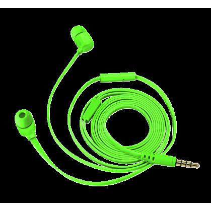 Гарнитура Duga In-Ear Headphones - Neon Green