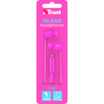 Гарнітура Duga In-Ear Headphones - Neon Pink