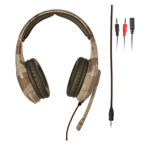 Гарнітура GXT 310D Radius Gaming Headset desert camo