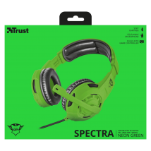 Гарнитура GXT 310-SG Spectra Gaming Headset green