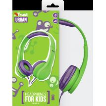 Дитячі навушники Bino Kids Green