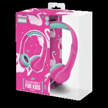 Дитячі навушники Bino Kids Pink
