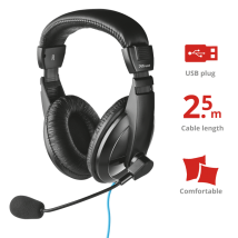 Гарнитура с микрофоном Vega PC USB Headset