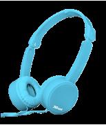 Складные наушники Nano Foldable Headphones - blue