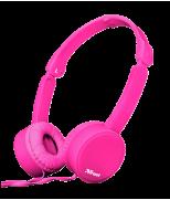 Складные наушники Nano Foldable Headphones - pink