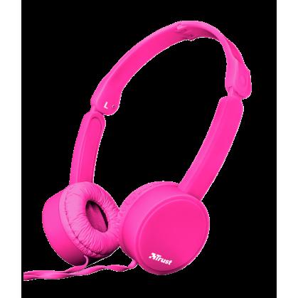 Складні навушники Nano Foldable Headphones - pink