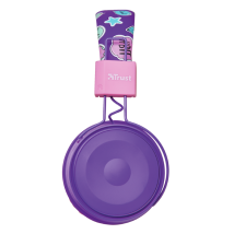 Comi Bluetooth Wireless Kids Headphones - purple