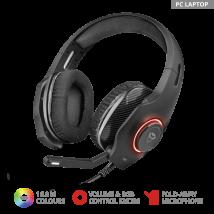 Игровая гарнитура с подсветкой GXT 455 Torus RGB Gaming Headset