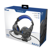 Игровая гарнитура GXT 307B Ravu Gaming Headset for PS4 - blue