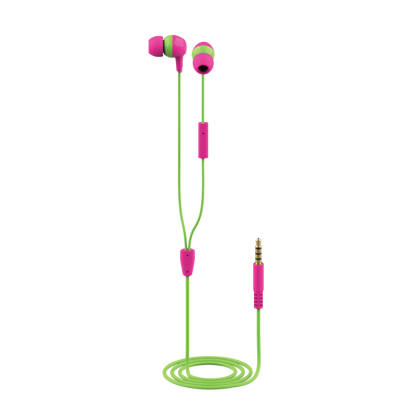Детские наушники Trust Buddi Kids In-Ear Headphones- pink