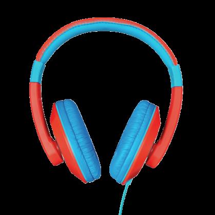 Дитячі навушники Trust Sonin kids headphone - red