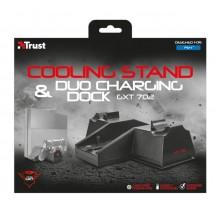 Охолоджувана подстака із зарядним пристроєм GXT 702 Cooling Stand with dual charge dock
