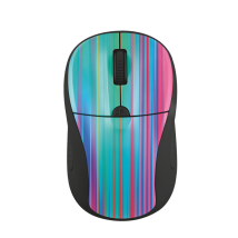 Миша Primo Wireless Mouse black rainbow