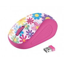 Мышь Primo Wireless Mouse pink flowers