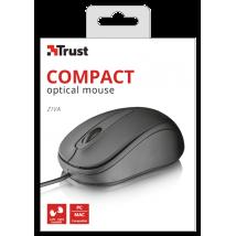 Ziva Optical Compact mouse Black USB (21508)
