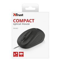 Мышь Primo Optical Compact Mouse - black