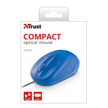 Мышь Primo Optical Compact Mouse - blue