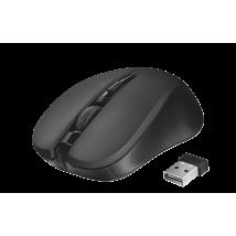 Миша TRUST Mydo silent click wireless mouse black
