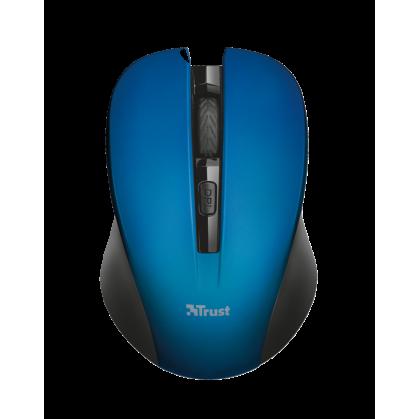 Мышь TRUST Mydo silent click wireless mouse blue