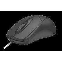 Мышь Ziva Optical mouse Black USB