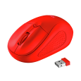 Primo Wireless Mouse - matte red